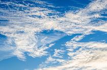 Hintergrund-schlierenwolken