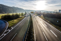 Autobahn by caladoart