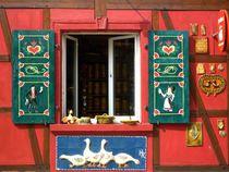 Elsass, Frankreich. Entrez! von Ute Le Bues