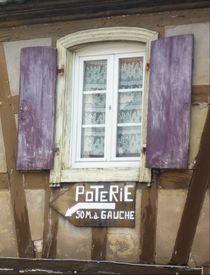 Elsass, Frankreich. von Ute Le Bues