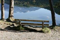 Bank am Hechtsee, Brandenberger Alpen, Tirol von Kathleen Follert