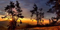 Sunrise, Sonnenaufgang über den Wacholderheiden by Christian Busch