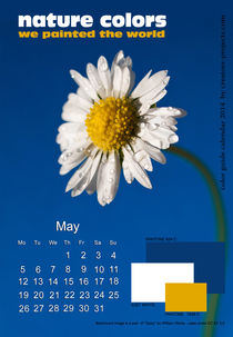nature colors calendar May 2014 von ggoulias