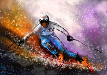 Skiing 02 by Miki de Goodaboom