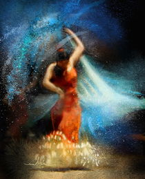 Flamencoscape 05 von Miki de Goodaboom