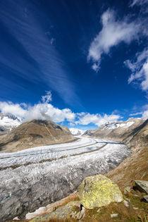 Aletschgletscher Schweiz Aletsch Glacier Switzerland von Matthias Hauser