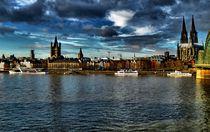 Köln Panorama von Frank Voß