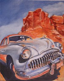 Buick, classic car by Marie-Ange Lysens
