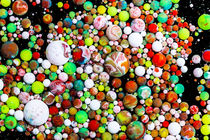Candy Paintballs - oil paint marbles nr.20 von rclassenfotostock