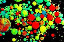 poison balls - oil paint marbles nr.03 by rclassenfotostock