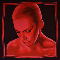 Annie Lennox painting by Paul Meijering