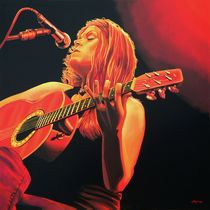 Beth Hart painting by Paul Meijering