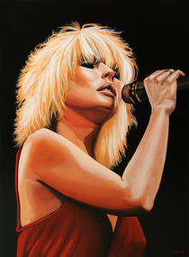 Blondie painting von Paul Meijering