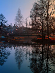 Die Brücke am Fluss | Landschaftsfotografie von Patrick Jobst