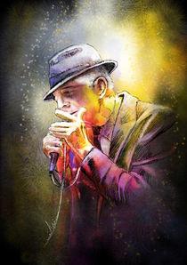 Leonard Cohen von Miki de Goodaboom