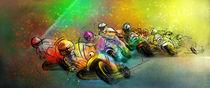 Motorbike Racing 02 von Miki de Goodaboom