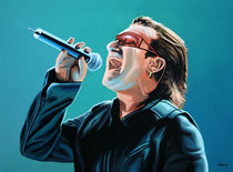 Bono of U2 painting von Paul Meijering