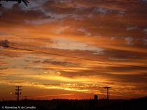 Sky on fire by Florentina Necunoscutu de Carvalho