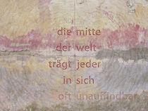 die mitte der welt by Juliane Tenner-Hebel