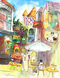 Street in Saint Martin von Miki de Goodaboom