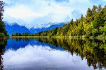 Matheson Lake - Lago Matheson von Víctor Bautista