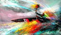 Olympics Kayaking 01 von Miki de Goodaboom