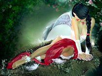 One Winged Angel von violetmoon