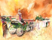 Taxi Driver in Marrakesh von Miki de Goodaboom