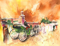 Taxi Driver in Marrakesh by Miki de Goodaboom