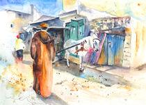 Street Scene in Morocco 01 von Miki de Goodaboom