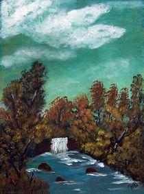 waterfall II von Vera Markgraf