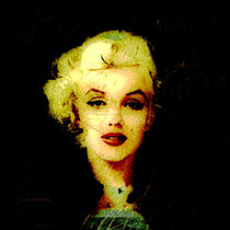 Marilyn Glowing in the Dark by Stephen Lawrence Mitchell