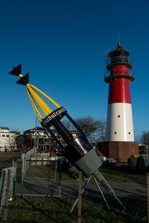 Büsumer Leuchtturm by fotografie-von-hein