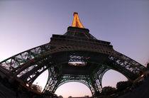Eiffel Tower at dusk, Paris, France by aelita