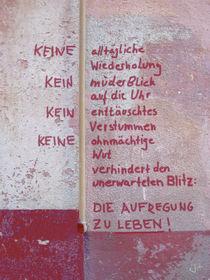 KEINE alltägliche Wiederholung von Juliane Tenner-Hebel