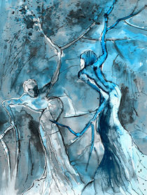 Coup de Tete Bleu von Miki de Goodaboom