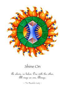 Shine On Mandala w/msg by themandalalady