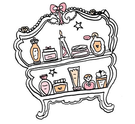 Beauty-cupboard