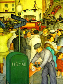 The US MAIL gets Delivered von Joseph Coulombe