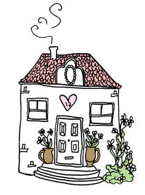 a happy cosy home von by Jill