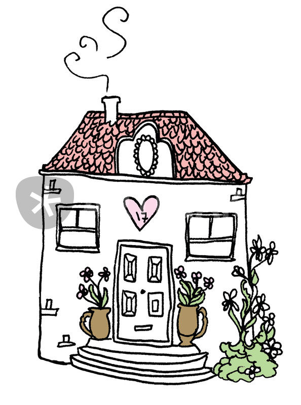 Cool Cozy House Cartoon Download Free Architecture Designs Fluibritishbridgeorg