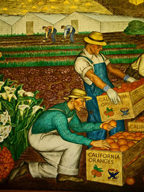 California Orange Growers by Joseph Coulombe