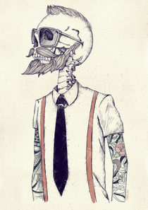 The Gentleman becomes a Hipster by Mike Koubou