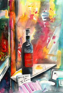 Alabastro Wine from Italy von Miki de Goodaboom