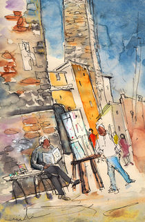 San Gimignano 05 von Miki de Goodaboom
