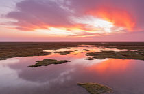 Sunset Friedrichskoog von nordbilder