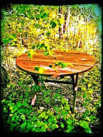 Garden Table by Sabine Cox