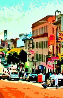 San Fran city streets by Joseph Coulombe