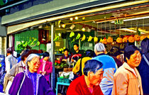 chinatown market at mid-day by Joseph Coulombe
