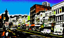 SF Chinatown abstract by Joseph Coulombe